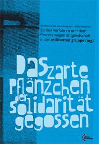 """Cover """"Das zarte Pflänzchen der Solidarität gegossen"""""""